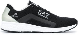 EA7 Emporio Armani Low-Top Lace-Up Sneakers