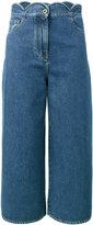 Valentino cropped jeans - women - Cotton/Polyester - 25