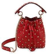 Valentino Women's Garavani Mini Rockstud Spike Leather Bucket Bag