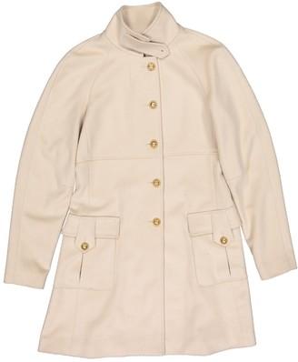 Fendi Beige Cashmere Coat for Women