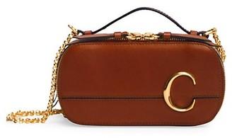 Chloé C Leather Crossbody Bag