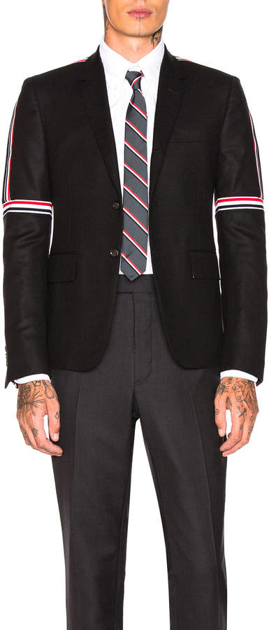 Thom Browne High Armhole Wool Jacket