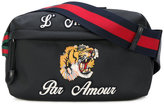 Gucci embroidered tech pack belt bag
