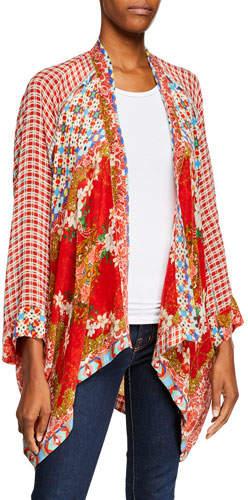 0d7d7dd3fe3 Johnny Was Kimono - ShopStyle