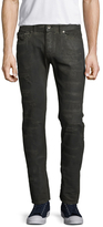 Diesel Black Gold Cotton Distressed Skinny Jeans