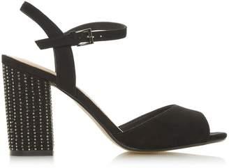Dorothy Perkins Womens *Head Over Heels By Dune Black 'Mandy' Ladies High Heel Sandals, Black