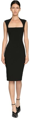 Thierry Mugler Tech Scuba Pencil Dress