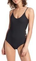 Billabong Women's 'Meshin' With You' One-Piece Swimsuit