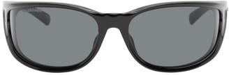 Balenciaga Black INTNL Fast Sunglasses