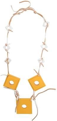 Corto Moltedo square charms necklace