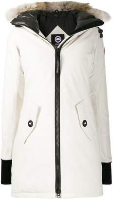 Canada Goose long sleeve zipped down coat