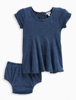 Splendid Baby Girl Indigo Fit and Flare Dress