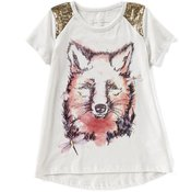 Jessica Simpson Big Girls 7-16 Clem Cap-Sleeve Tee