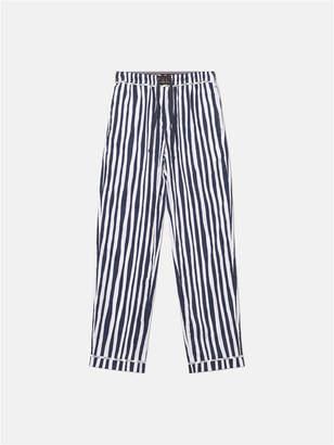 Wesc Addison Uneven Stripes Woven Pajama Pants