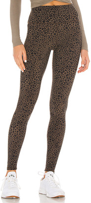 Alo Leopard High Waist Vapor Legging