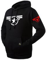 XCOSER Unisex Captain Hoodie The Avengers Logo Sweater Zip up Pullover M