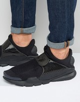 Nike Sock Dart Trainers In Black 819686-001