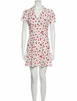 HVN Silk Mini Dress
