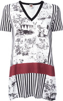 I'M Isola Marras multi-print knitted T-shirt - women - Cotton - S