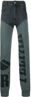 Telfar Hybrid High-Waisted Trousers