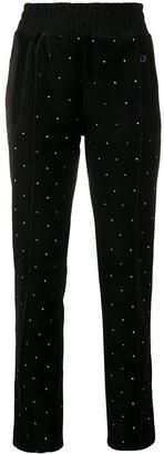 Chiara Ferragni Crystal Embellished Trousers