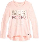 Sean John Princess Graphic Long-Sleeve T-Shirt, Big Girls (7-16)