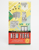 Books City Scratch Off Map New York