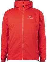Arc'teryx Atom Ar Padded Ripstop Hooded Jacket - Red