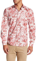 Ganesh Long Sleeve Toile Print Shirt
