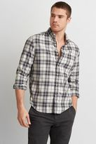 American Eagle Outfitters AE Heathered Twill Shirt