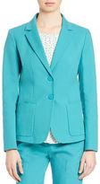 Max Mara Savana Two-Button Jacket