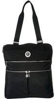 Baggallini International Milan Tote (Black) Handbags
