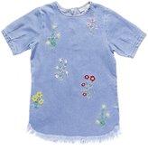 STELLA MCCARTNEY KIDS - Girl's Flroal Embroidered Bess Dress