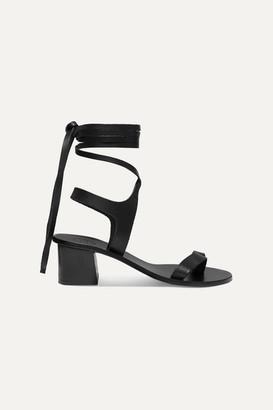 Atelier Atp ATP Canda Leather Sandals - Black