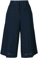 No.21 lace cropped trousers