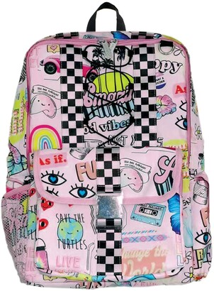 Iscream Scribble Canvas Backpack