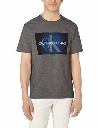 Calvin Klein Men's Short Sleeve T-Shirt Monogram Logo