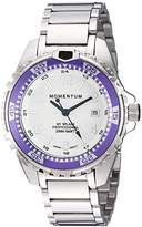 Momentum Women's Quartz Stainless Steel Diving Watch, Color:Silver-Toned (Model: 1M-DN11LP0)