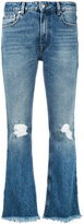 MSGM flared jeans - women - Cotton/Polyester - 38