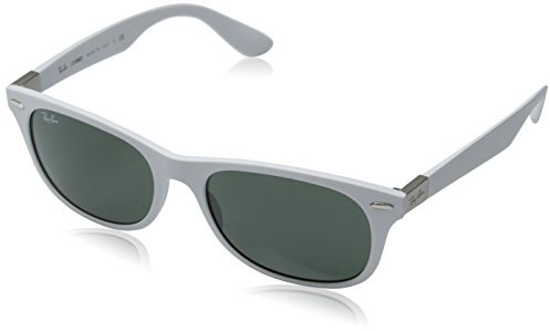 Ray-Ban RB4207 55 LITEFORCE Black/Green Sunglasses 55mm