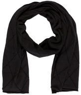 Chanel Cashmere Quilted Scarf