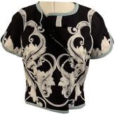 Aquilano Rimondi Black Silk Jacket for Women