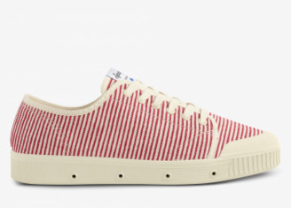 Spring Court Off White and Red Striped G2 Sneakers - 36