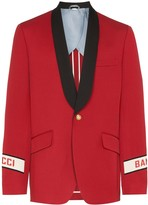 Gucci Band shawl lapel blazer