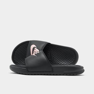 Nike Women's Benassi JDI Swoosh Slide Sandals