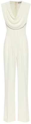 Emilia Wickstead Exclusive to Mytheresa Desma stretch-crepe jumpsuit