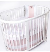 Oilo Woven Band Crib Skirt For Stokke Sleepi Crib