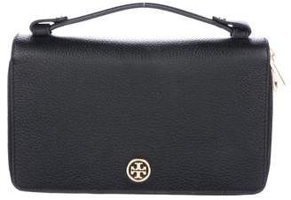 Tory Burch Grained Leather Zip Wallet