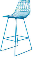 Bend Goods Lucy Barstool, Peaccock Blue