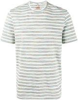 Missoni Grey and White Striped t shirt